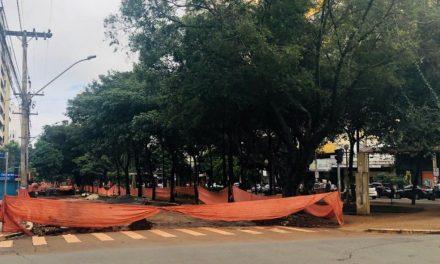 Trecho da Avenida Goiás será interditado para obras do BRT a partir de segunda-feira