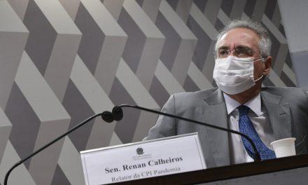 Renan diz que CPI deve apurar 'informações gravíssimas' de eventual desvio no governo federal