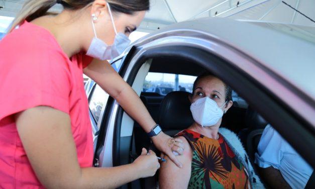 Aparecida de Goiânia começa a vacinar contra Covid-19 idosos acima de 61 anos