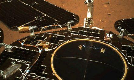 China diz que rover já circula na superfície de Marte