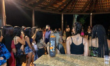 Central de Fiscalização fecha festas clandestinas em Goiânia