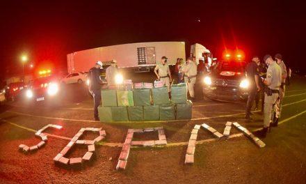 Ação integrada em Itumbiara resulta em apreensão de uma das maiores cargas de pasta base de cocaína