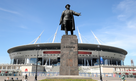 Eurocopa: Rússia permitirá torcedores estrangeiros em São Petesburgo