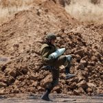 Número de palestinos mortos sobe para 128, Israel intensifica ataque