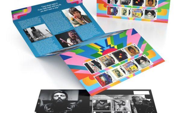 Paul McCartney é homenageado por correio britânico em série especial de selos