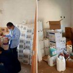 Operação fecha fábrica clandestina de agrotóxicos e apreende 9 toneladas de produtos falsos