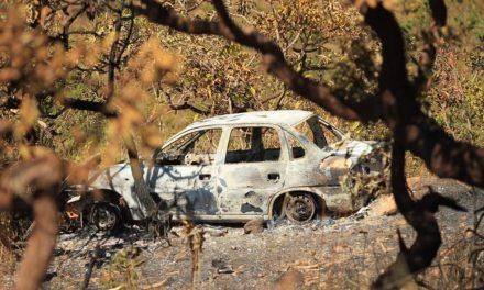 Carro é encontrado queimado em área de buscas por Lázaro Barbosa