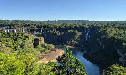Com cataratas irreconhecíveis, Rio Iguaçu está 'doente' e vê mata nativa minguar