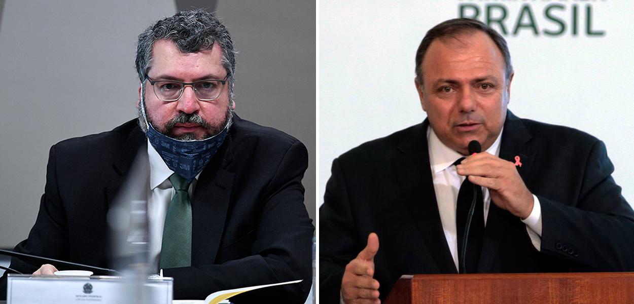 CPI quebra de sigilos de Pazuello, Ernesto Araújo e mais 17 pessoas
