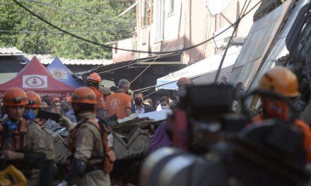 Polícia ouve dono de prédio que desabou em Rio das Pedras