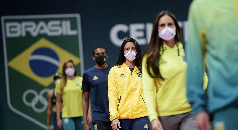Olimpíada de Tóquio: COB apresenta uniformes oficiais do Time Brasil