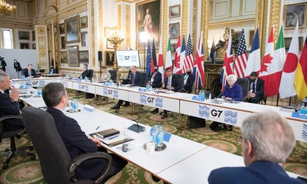G7 se compromete com imposto mundial para grandes empresas de 'pelo menos 15%'