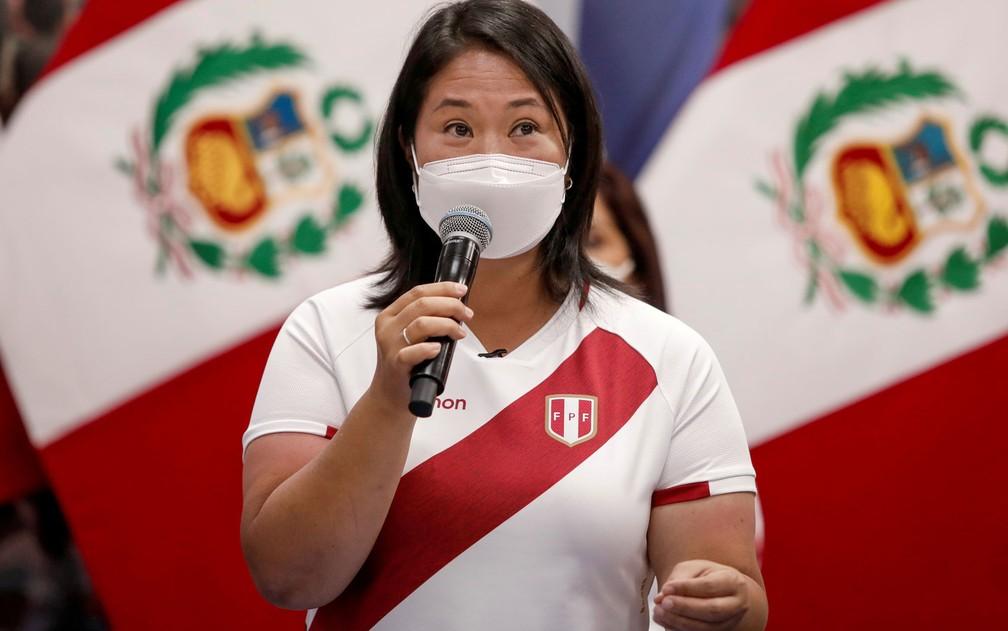 Lava Jato no Peru pede que Keiko Fujimori, que concorre à presidência, volte à prisão