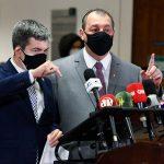 Aziz e Randolfe definem próximos passos da CPI da Pandemia