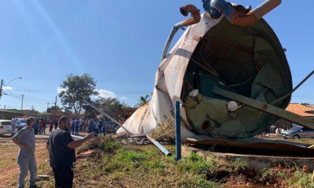 Prefeitura realiza estudo técnico para descobrir causas do acidente com caixa d'água