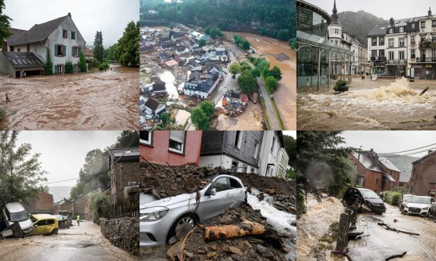 Chuvas e inundações deixam 35 mortos na Alemanha e na Bélgica