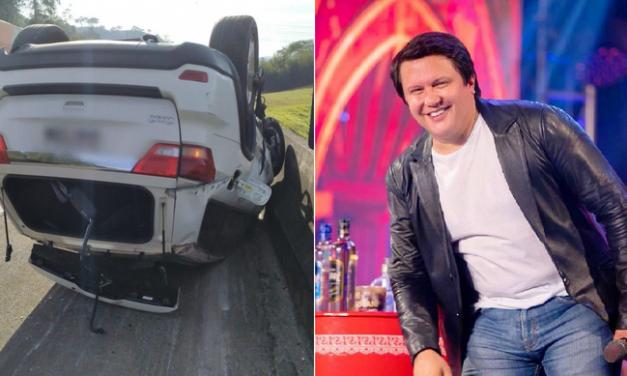 Cantor Giovani, da dupla com Gian, sofre acidente de carro em São Paulo