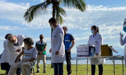 Pesquisa de vacinação em massa em Paquetá mostra resultado positivo