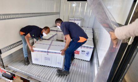 Covid-19: Goiás recebe novo carregamento com mais 233 mil doses das vacinas Pfizer e Coronavac