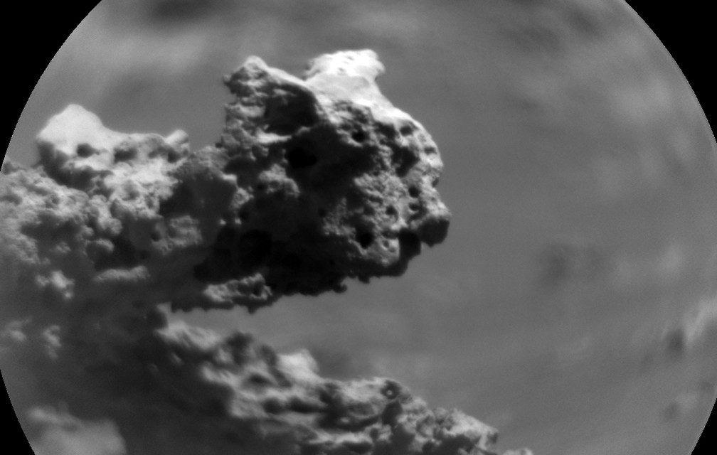 Estrutura em Marte chama a atenção da Nasa