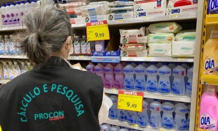 Produtos de higiene pessoal e limpeza tem variação de até 122% em Goiânia
