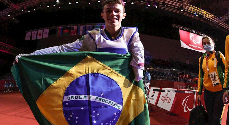 Tóquio: Nathan Torquato é 1ºcampeão de parataekwondo da história