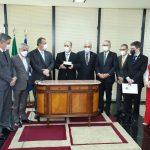 Integrantes da CPI entregam relatório final à PGR e ao STF